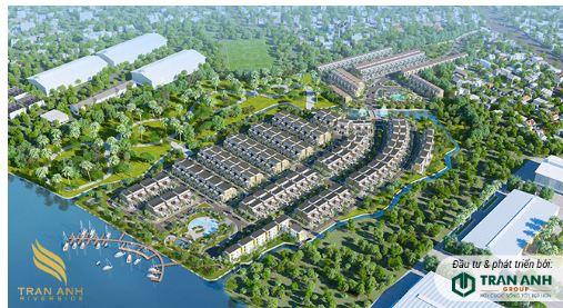 Trần Anh Group ra mắt biệt thự ven sông tiện ích ở Long An