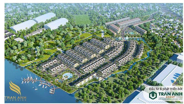 Trần Anh Group tiếp tục phát triển dự án Trần Anh Riverside